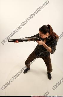 2016 05 PATRICIA ARMY SHOTGUN POSE1 02 A