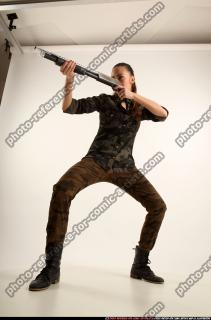 2016 05 PATRICIA ARMY SHOTGUN POSE1 01 C