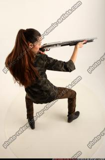 2016 05 PATRICIA ARMY SHOTGUN POSE1 06 A