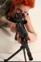 2016 11 ZORA LAYING AIMING M4A1 10