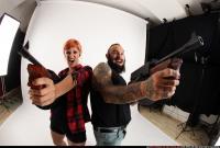 2017 01 COUPLE5 SHOOTING TOMMYGUNS 11