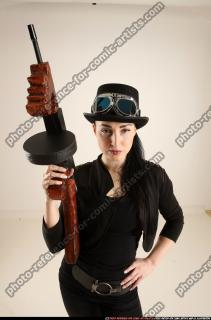 2017 11 CLAUDIA STEAMPUNK TOMMYGUN NEUTRAL POSE 08
