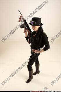 2017 11 CLAUDIA STEAMPUNK TOMMYGUN NEUTRAL POSE 01 A