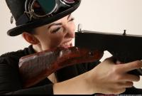 2017 12 CLAUDIA STEAMPUNK TOMMYGUN SHOOTING 11