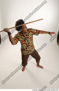 14 2018 01 ALBI AFRICAN THROWING POSE
