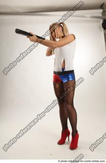 12 2018 01 NIKOL HARLEY STANDING POSE WITH BASEBALL BAT