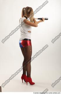 06 2018 01 NIKOL HARLEY STANDING POSE WITH BASEBALL BAT