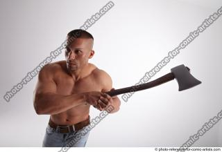 01 2018 01 ROGELIO  WITH AX AND GUN