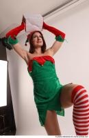 27 2018 01 VERONIKA ELF STANDING POSE WITH BOX