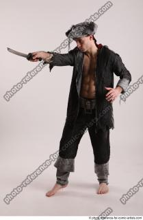 02 JACK DEAD PIRATE STANDING POSE WITH SWORD