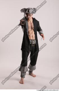 01 JACK DEAD PIRATE STANDING POSE WITH SWORD