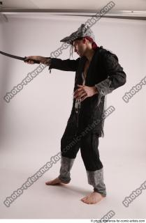 19 JACK DEAD PIRATE STANDING POSE WITH SWORD