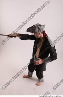 11 JACK DEAD PIRATE STANDING POSE WITH SWORD