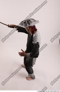 12 JACK DEAD PIRATE STANDING POSE WITH SWORD