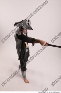 16 JACK DEAD PIRATE STANDING POSE WITH SWORD