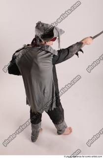 14 JACK DEAD PIRATE STANDING POSE WITH SWORD