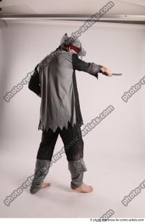 22 JACK DEAD PIRATE STANDING POSE WITH SWORD