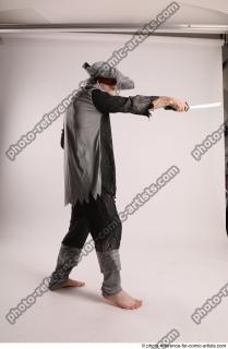23 JACK DEAD PIRATE STANDING POSE WITH SWORD