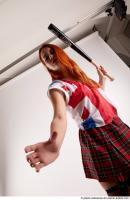 29 2019 01 TINA STANDING POSE WITH BASEBALL BAT 292