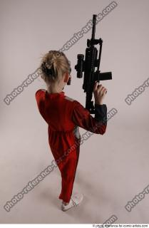 21 2019 01 DENISA WITH TWO GUNS