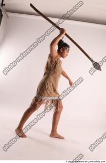17 2019 01 ANISE STANDING POSE WITH SPEAR