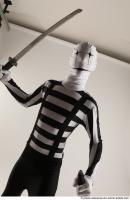 33 2019 01 JIRKA MORPHSUIT WITH DAGGER AND KATANA