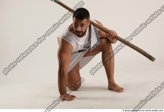 02 2019 01 ATILLA KNEELING POSE WITH SPEAR