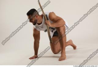03 2019 01 ATILLA KNEELING POSE WITH SPEAR