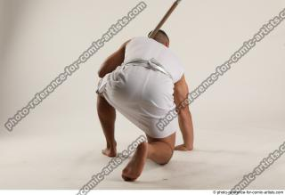 06 2019 01 ATILLA KNEELING POSE WITH SPEAR