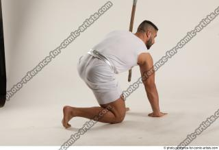 07 2019 01 ATILLA KNEELING POSE WITH SPEAR