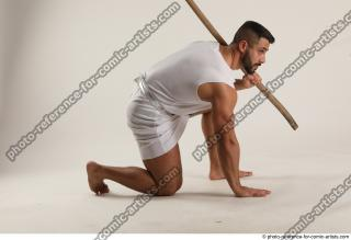 08 2019 01 ATILLA KNEELING POSE WITH SPEAR