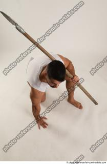 09 2019 01 ATILLA KNEELING POSE WITH SPEAR
