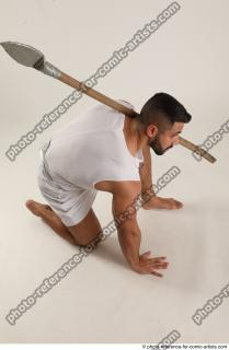 16 2019 01 ATILLA KNEELING POSE WITH SPEAR