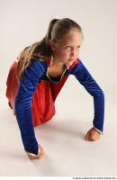 2020 08 VIKY SUPERGIRL KNEELING POSE