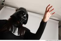 LUCIE DARTH VADER STANDING POSE WITH LIGHTSABER (28)