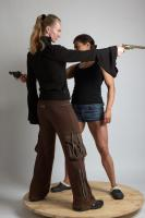 2021 01 OXANA AND XENIA STANDING POSE WITH GUNS 2 (4)