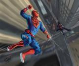 Spidey vs. Venom by Chris Seguritan