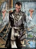 'Pirati' book illustration by Michael Grieco